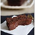 Fondant truffe au chocolat / chocolate truffle fondant