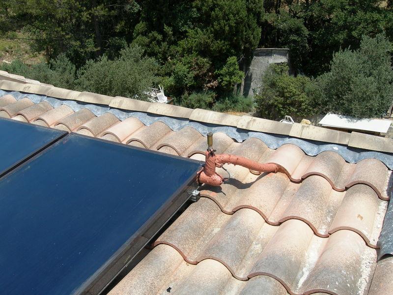 raccordement panneaux sur toit 02