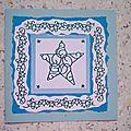 Carte n°43 étoile bleu (2)