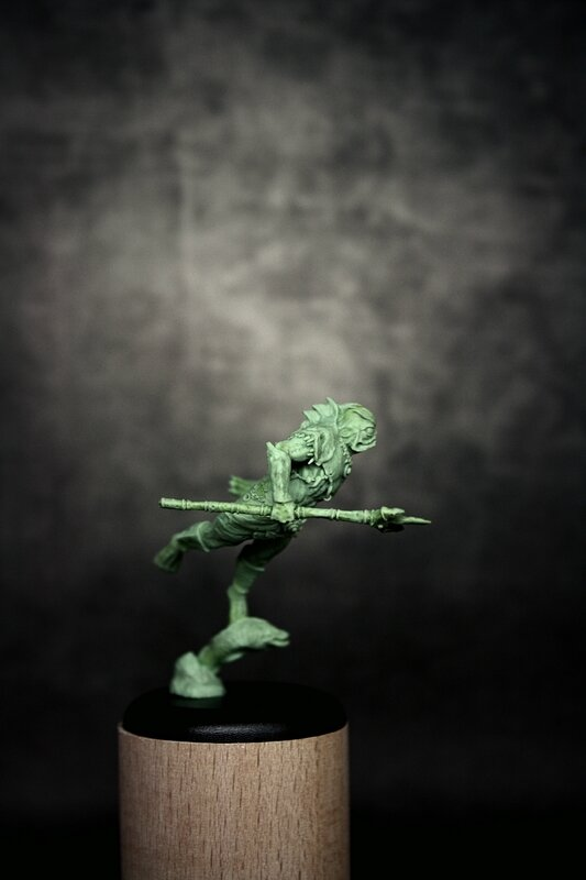The Merman - Miniatures Skinny Sculptor by Thantor