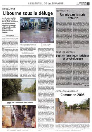 Le Résistant - jeudi 05 juin 2008