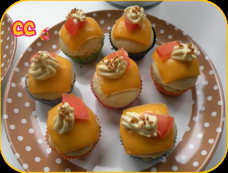 cupcakes façon burger 2