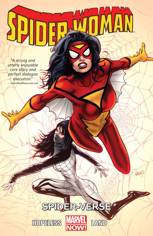 spider-woman vol 01 spider-verse TPB