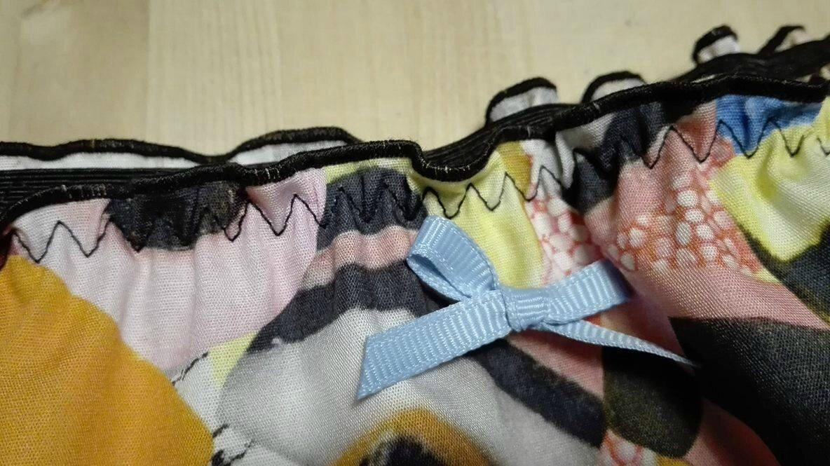 Culotte CHARLOTTE en coton imprimé bonbons anglais - taille M (3)