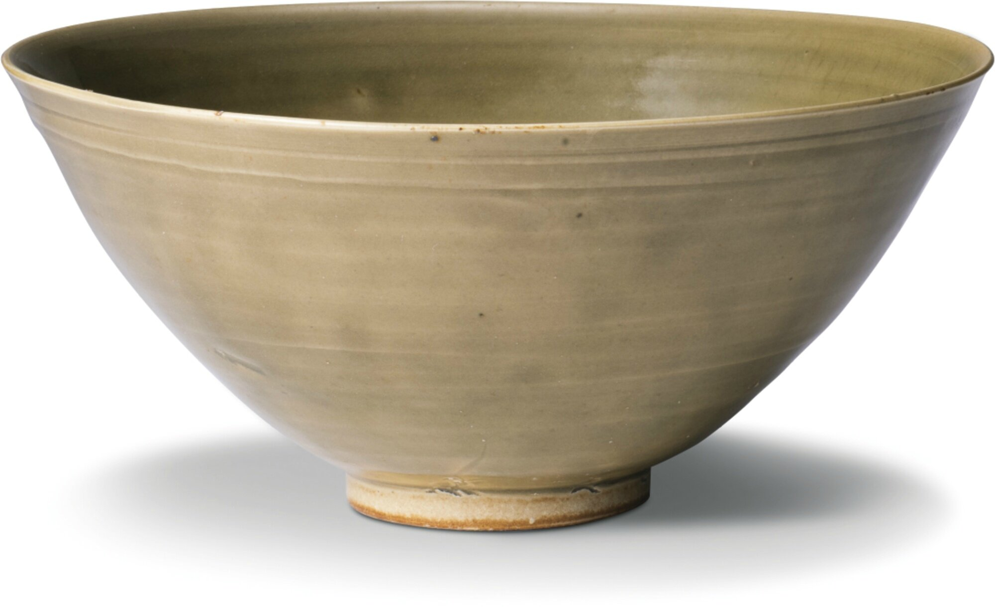 A large 'Yaozhou' celadon-glazed bowl, Song Dynasty (960-1279)