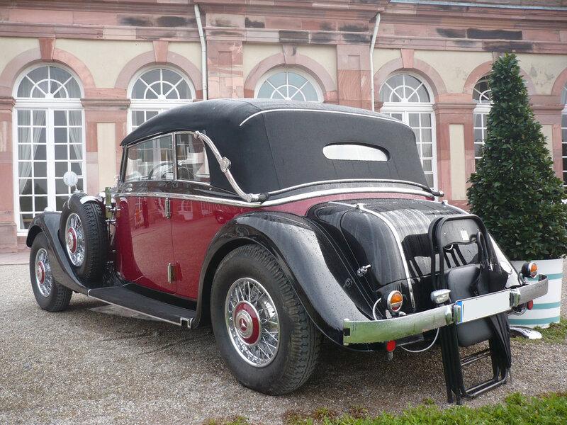 MERCEDES 290 W18 cabriolet B 1936 Schwetzingen (2)