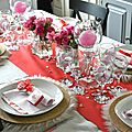 Decoration de table saint-valentin 2018
