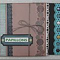 "Mini album ""papillons"""