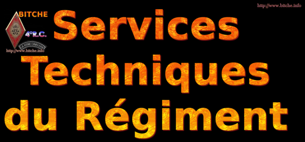 SERVICES TECHNIQUE du REGIMENT 000