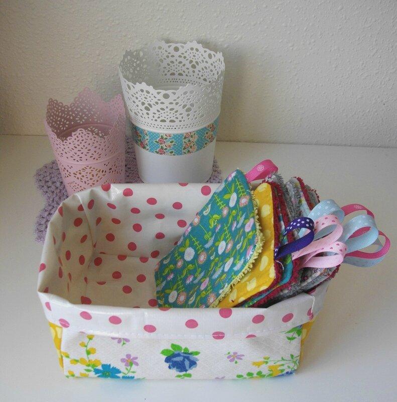 corbeille-chutes-tissu-recyclage-upcycling-diy-tuto-vintage-pois-enduit-kitsch-kitchen-henry-&-henriette-nantes