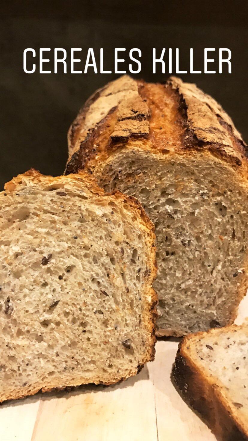 Le Céréales Killer (pain aux céréales)