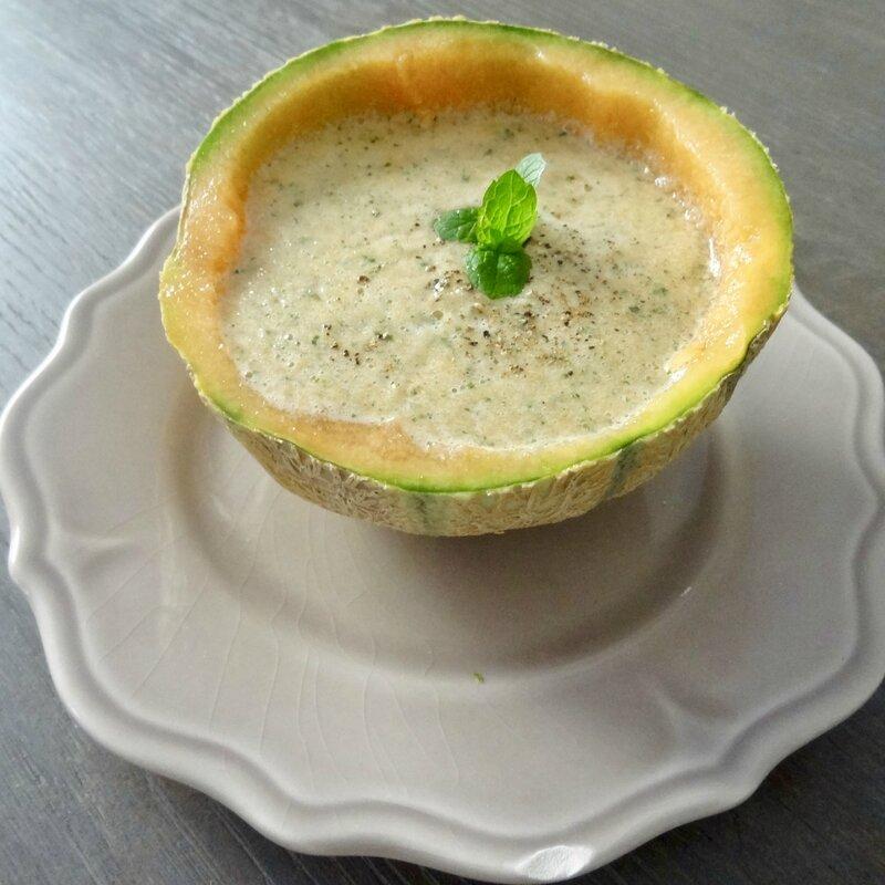 Soupe de melon 2