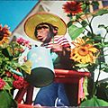 Singe jardinier