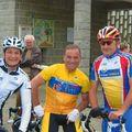 Eric et Jacky avec Bernard Hinault