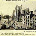 Nantes ancien - Place St-Pierre
