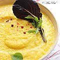 Gaspacho cru butternut et concombre