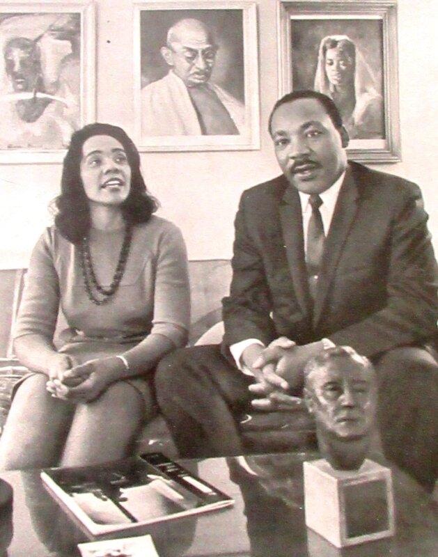 King et sa femme