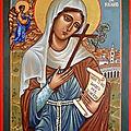 Sainte angele de foligno ( fête le 4 janvier )