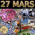 mois de MARS 27