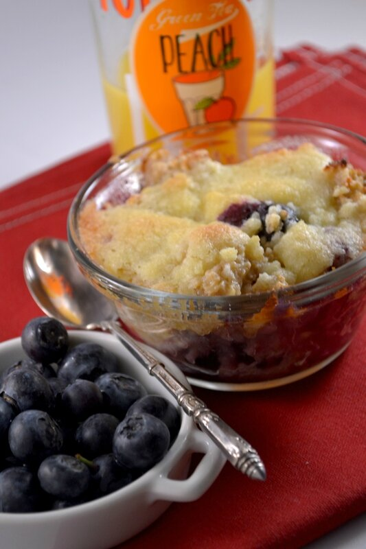Blueberry oatmeal muffins (6)