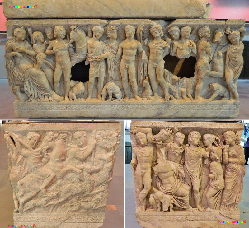 ARLES MUSEE SARCO PHEDRE ET HYPPOLYTE 383