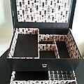 Une boite à couture: cartonnage