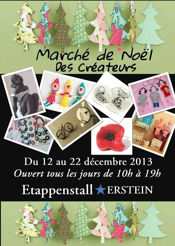 Flyer décembre-Brodi Broda-l'original à Erstein-Etappenstal