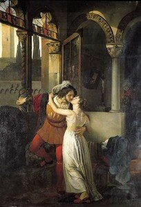 Romeo & Juliette - Francesco Hayez - 1823