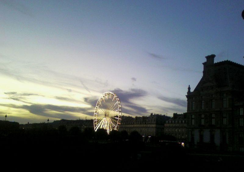 La grande roue de nuit