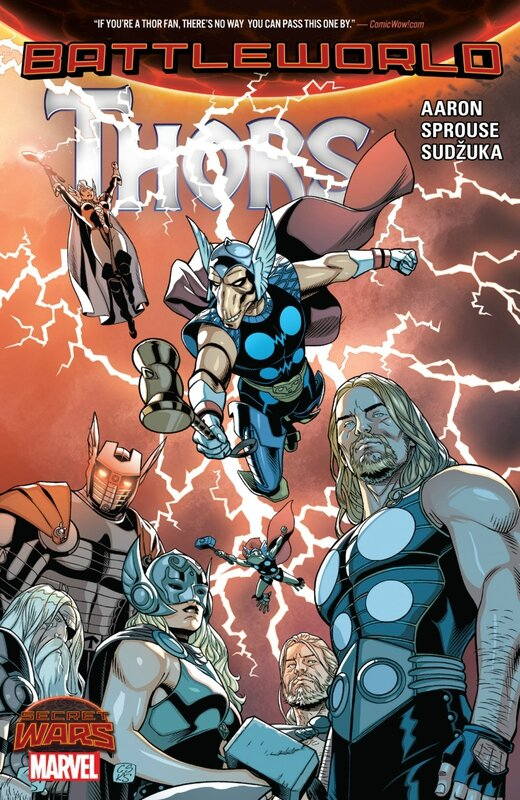 secret wars thors TP
