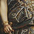 fede galizia (1578–1630) judith with the head of holoferness, detail.