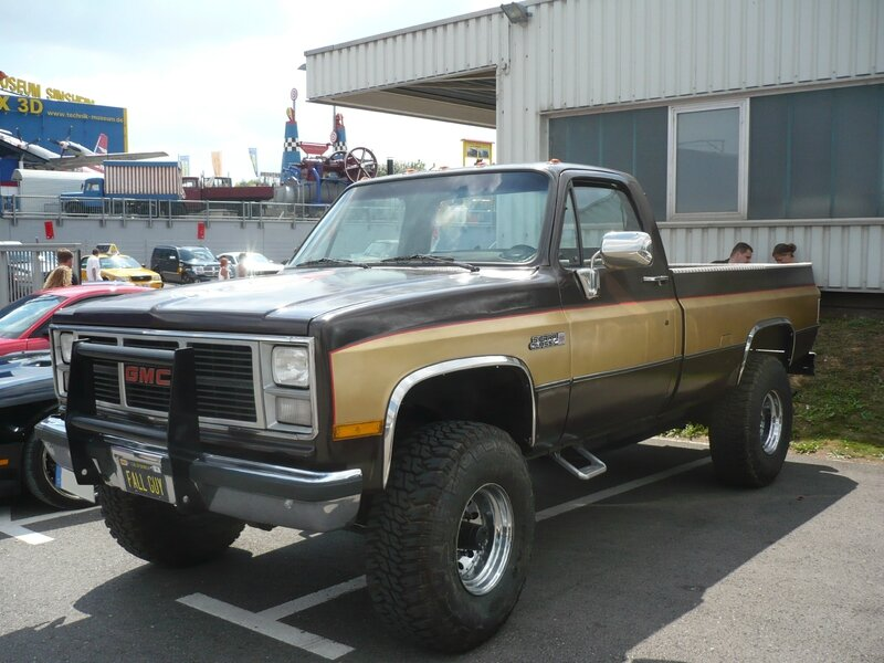 GMC Sierra Classic 2500 2door pick-up Sinsheim (1)