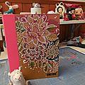 Avec l'eté, mon smashbook a pris des couleurs!