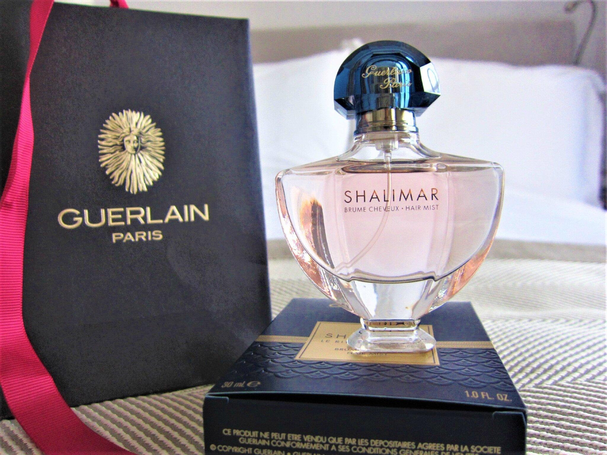 Mon parfum pour cheveux Shalimar de chez GUERLAIN