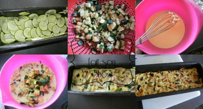 collage flan courgettes prunillefee