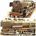 letraindemanu (832b) patine d'une locomotive à vapeur P8 DB Märklin 3098
