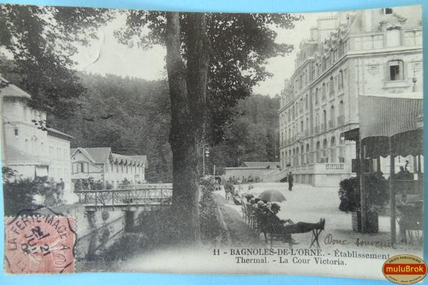 Carte Postale     Bagnoles de l'Orne - muluBrok Brocante en