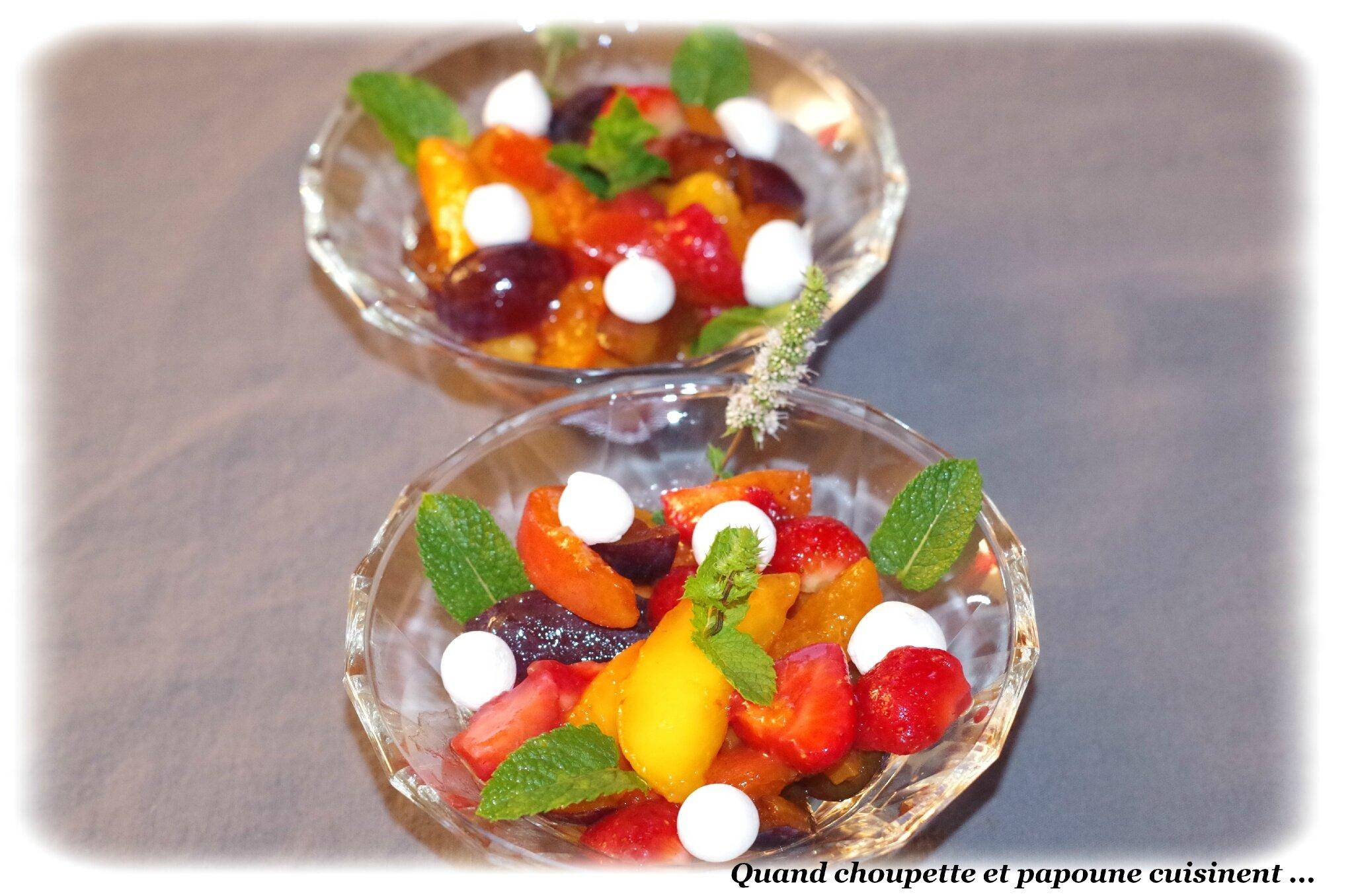 MACEDOINE DE FRUITS FRAIS