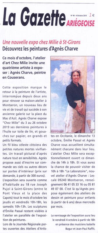 Agnes gazette