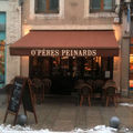 O'peres peinards restaurant nancy photo jeu de mot vitrine humour