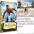 Concours dvd jeunessse: 5 dvd de la poudre a prout du professeur seraphin a gagner!!