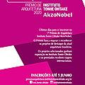 Prêmio de arquitetura instituto tomie ohtake akzonobel: inscrições até 5 de junho