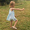 Duo mère-fille robe à bretelles - challenge #blisscousette8