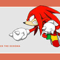 Knuckles dans sonic channel