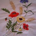 Bouquet nappe