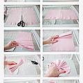 Tuto pour fabriquer de superbes boules suspendues de serviettes en papier !!!