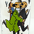 Verre collection ... tintin (1983)