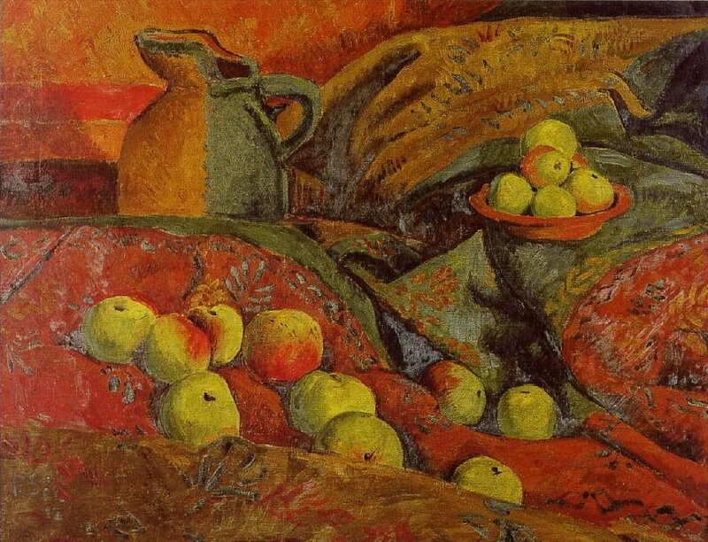serusier-nature-morte-pommes-cruche 1912