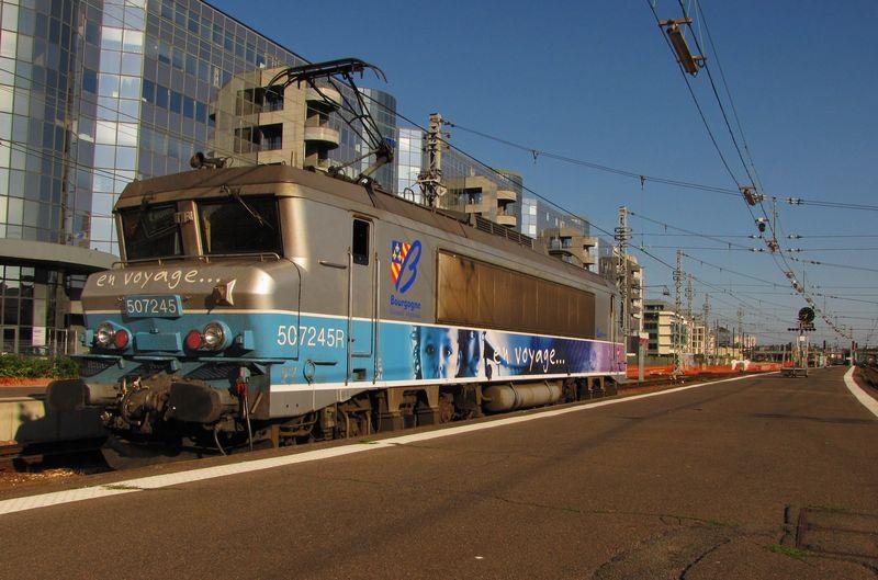 BB 7245R 'en voyage', gare de Tours