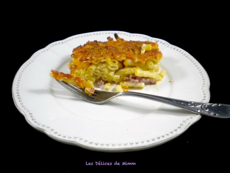 Mac and cheese aux lardons4